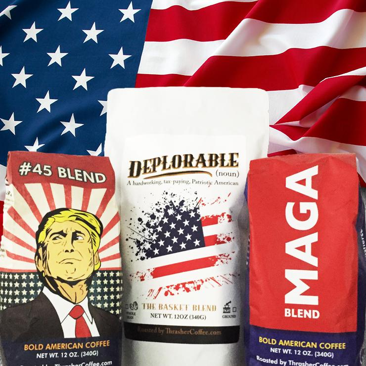 3 Different Coffee Blends to Fuel The Conservative Revolution
