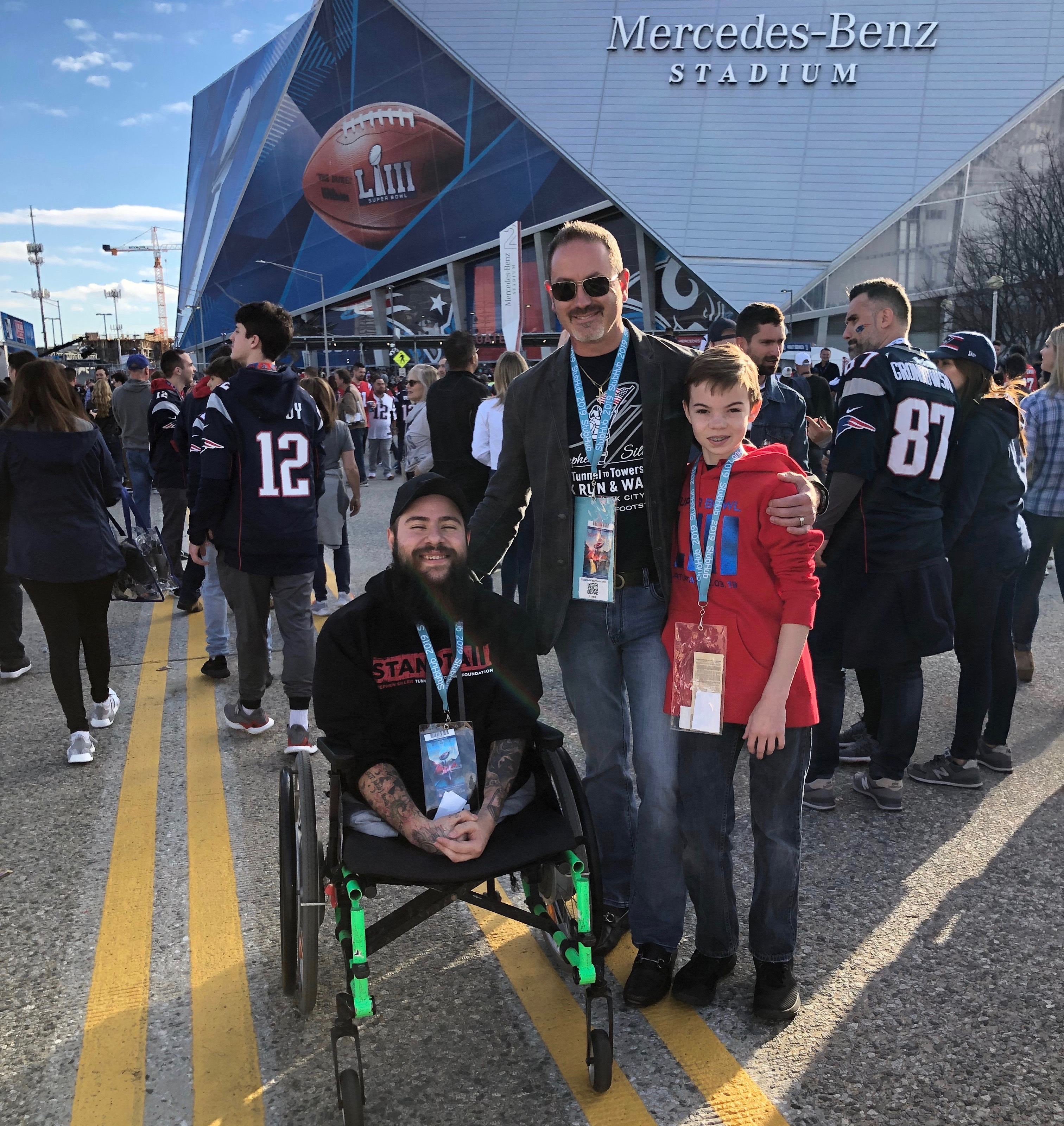 GA Entrepreneur Sends Purple Heart Vet to the Big Game in Atlanta (Feb. 3)