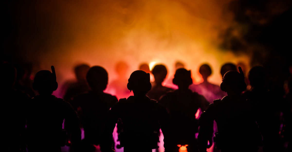 WATCH:  College Students Incite Riot Over Coronavirus Closures